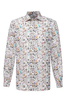 Мужская льняная рубашка VAN LAACK разноцветного цвета, арт. RET-TF/171646 | Фото 1
