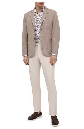 Мужская льняная рубашка VAN LAACK разноцветного цвета, арт. RET-TF/171646 | Фото 2