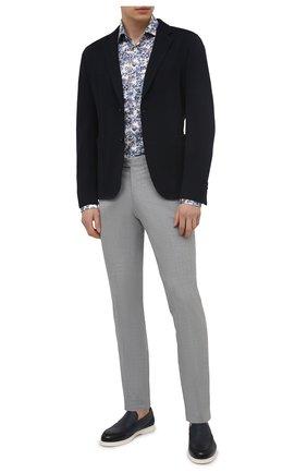 Мужская хлопковая рубашка VAN LAACK разноцветного цвета, арт. RAT0-LPTFN/171675 | Фото 2