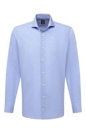 Мужская хлопковая сорочка VAN LAACK голубого цвета, арт. MES0-SF/162186 | Фото 1