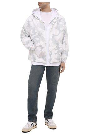 Мужская куртка DOLCE & GABBANA белого цвета, арт. G9U02Z/G7YED | Фото 2