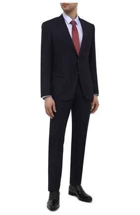 Мужские кожаные лоферы BARRETT черного цвета, арт. 211U048.1/BETIS CREAM | Фото 2