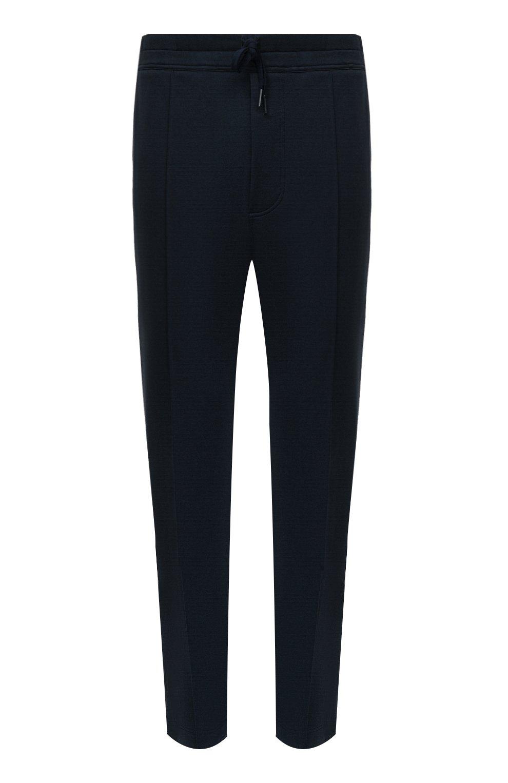 Мужские брюки TOM FORD темно-синего цвета, арт. BW250/TFJ974   Фото 1