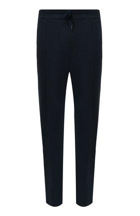 Мужские брюки TOM FORD темно-синего цвета, арт. BW250/TFJ974 | Фото 1