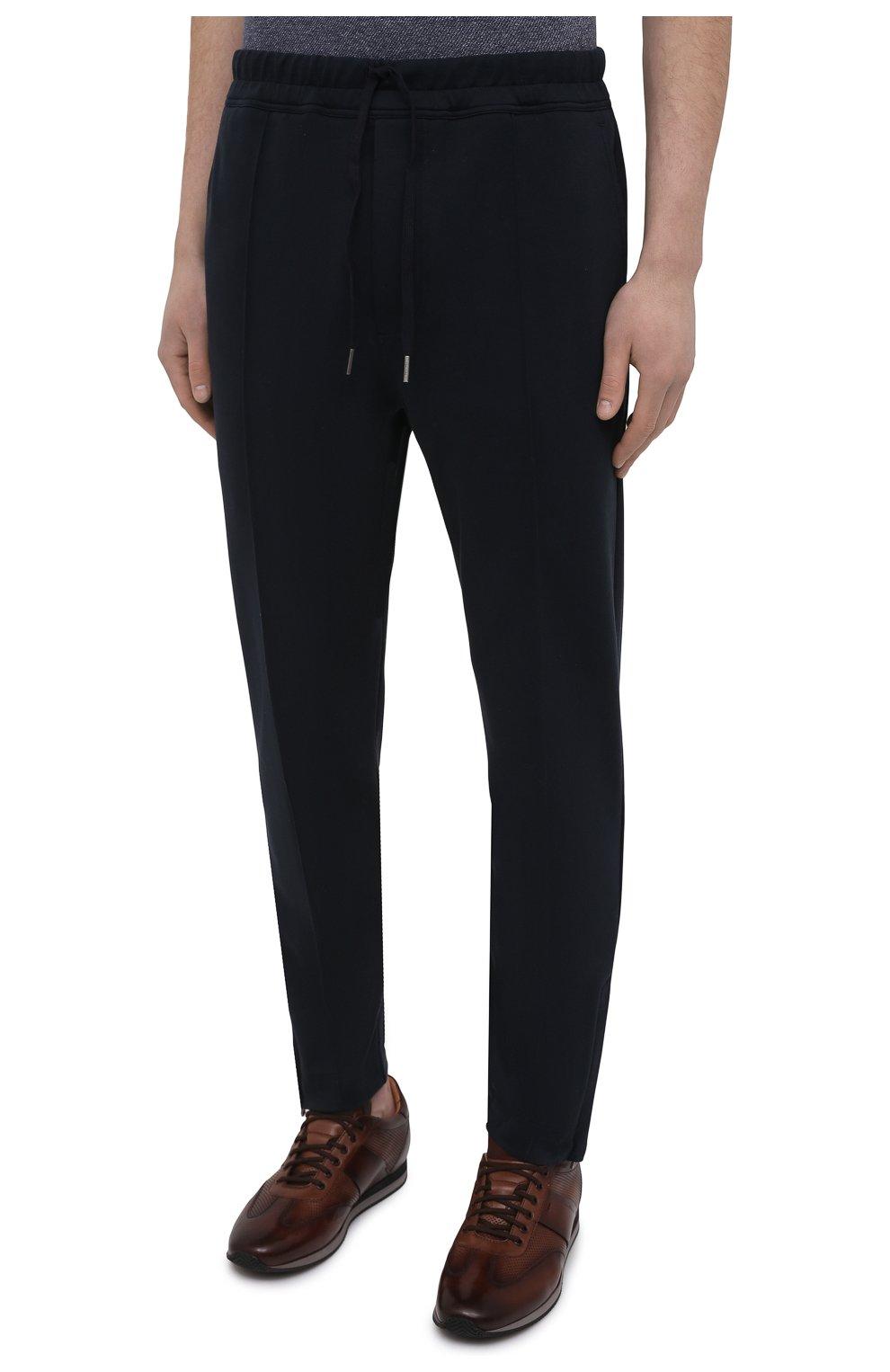 Мужские брюки TOM FORD темно-синего цвета, арт. BW250/TFJ974   Фото 3