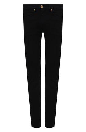 Мужские джинсы VERSACE черного цвета, арт. A81832/1F01113 | Фото 1
