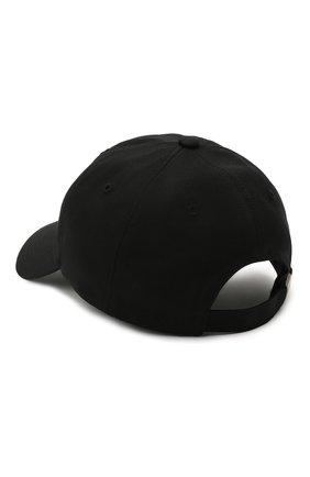 Мужской хлопковая бейсболка Y-3 черного цвета, арт. GT6379/W | Фото 2