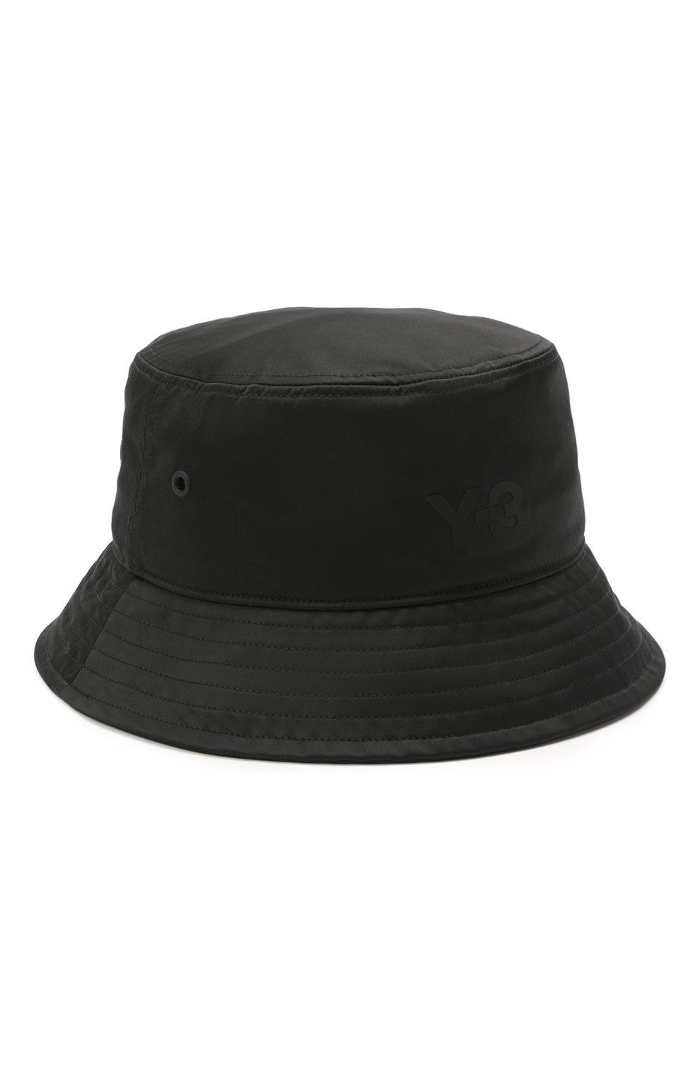 Мужская панама Y-3 черного цвета, арт. GQ3279/W   Фото 1