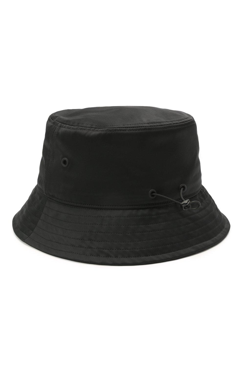 Мужская панама Y-3 черного цвета, арт. GQ3279/W   Фото 2
