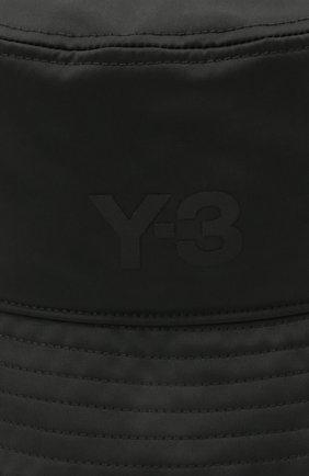 Мужская панама Y-3 черного цвета, арт. GQ3279/W   Фото 3