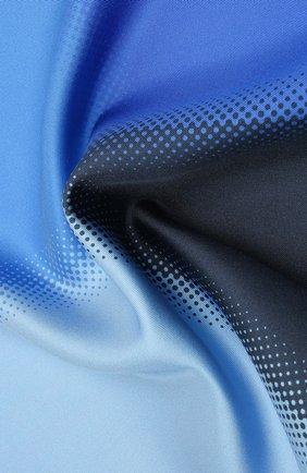 Мужской шелковый платок LANVIN синего цвета, арт. 2809/HANDKERCHIEF | Фото 2