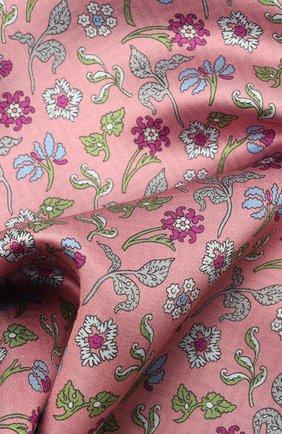 Мужской шелковый платок LANVIN розового цвета, арт. 2830/HANDKERCHIEF | Фото 2