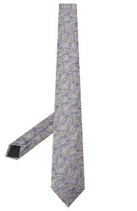 Мужской шелковый галстук LANVIN сиреневого цвета, арт. 2089/TIE | Фото 2