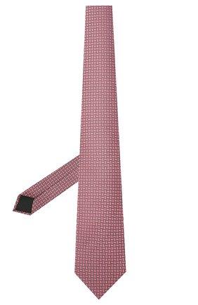 Мужской шелковый галстук LANVIN розового цвета, арт. 2236/TIE | Фото 2