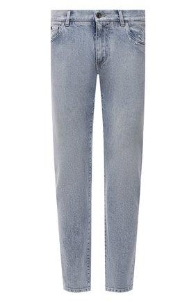 Мужские джинсы DOLCE & GABBANA голубого цвета, арт. GY07CD/G8D04 | Фото 1