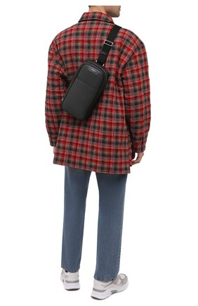 Мужской комбинированный рюкзак stepan SERAPIAN темно-серого цвета, арт. SRSTPMML713116A | Фото 2
