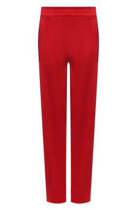 Женские брюки BOTTEGA VENETA красного цвета, арт. 648998/V0C10   Фото 1 (Материал внешний: Вискоза, Синтетический материал; Стили: Спорт-шик; Женское Кросс-КТ: Брюки-одежда; Силуэт Ж (брюки и джинсы): Широкие; Длина (брюки, джинсы): Удлиненные)