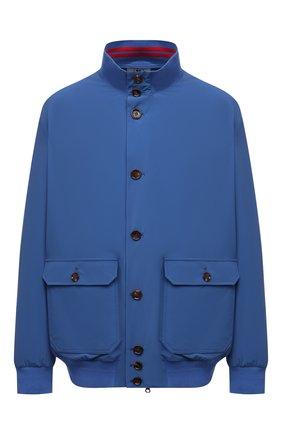 Мужской бомбер KIRED синего цвета, арт. WSERGI0W6905010004/64-74 | Фото 1