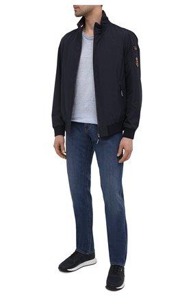 Мужские кроссовки BOSS темно-синего цвета, арт. 50452025 | Фото 2