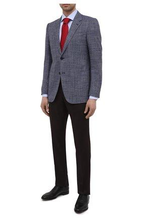 Мужские кожаные оксфорды BOSS черного цвета, арт. 50446515 | Фото 2 (Стили: Классический)