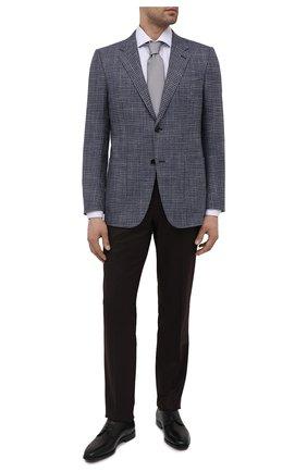 Мужские кожаные дерби BOSS черного цвета, арт. 50429668 | Фото 2 (Стили: Классический)