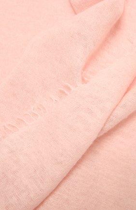 Женский кашемировый шарф helsinki BALMUIR светло-розового цвета, арт. 122102   Фото 2