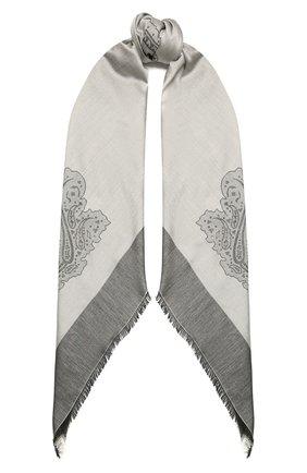 Женская шаль capri BALMUIR серого цвета, арт. 310700   Фото 1