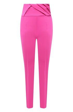 Женские шерстяные брюки THE ATTICO фуксия цвета, арт. 211WCP23/W009 | Фото 1
