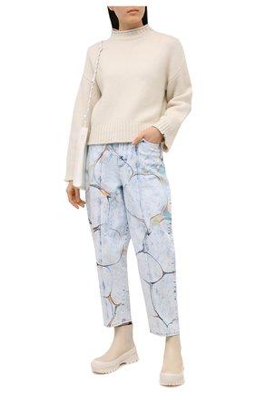 Женские джинсы STELLA MCCARTNEY голубого цвета, арт. 602559/S0H24 | Фото 2