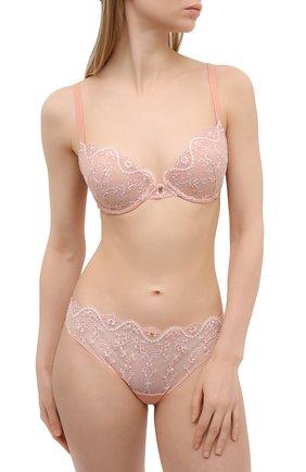 Женские трусы-слипы RITRATTI MILANO светло-розового цвета, арт. 72479 | Фото 2