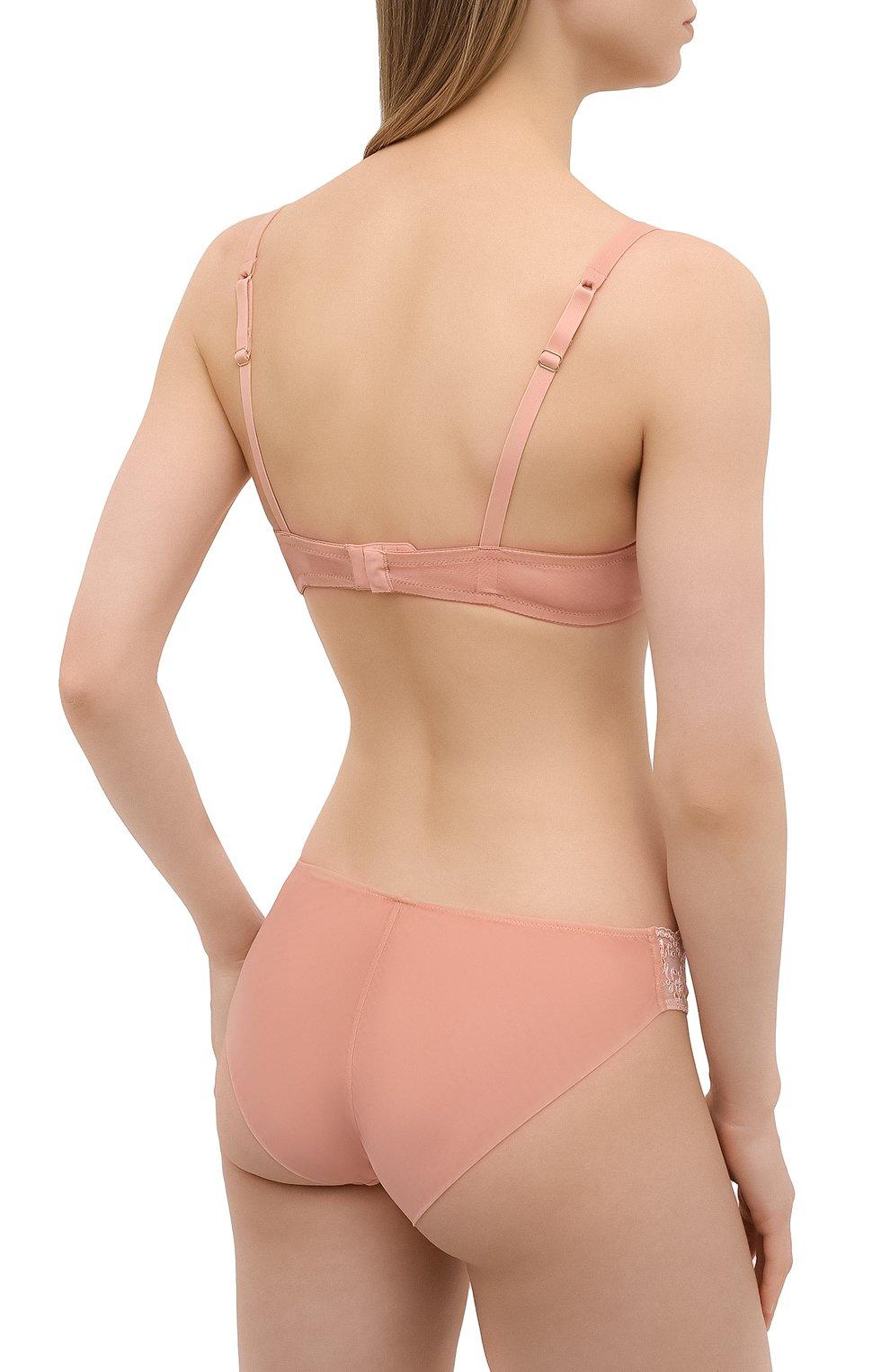 Женские трусы-слипы RITRATTI MILANO светло-розового цвета, арт. 72479 | Фото 3