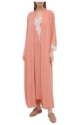 Женская сорочка RITRATTI MILANO светло-розового цвета, арт. 72487 | Фото 2