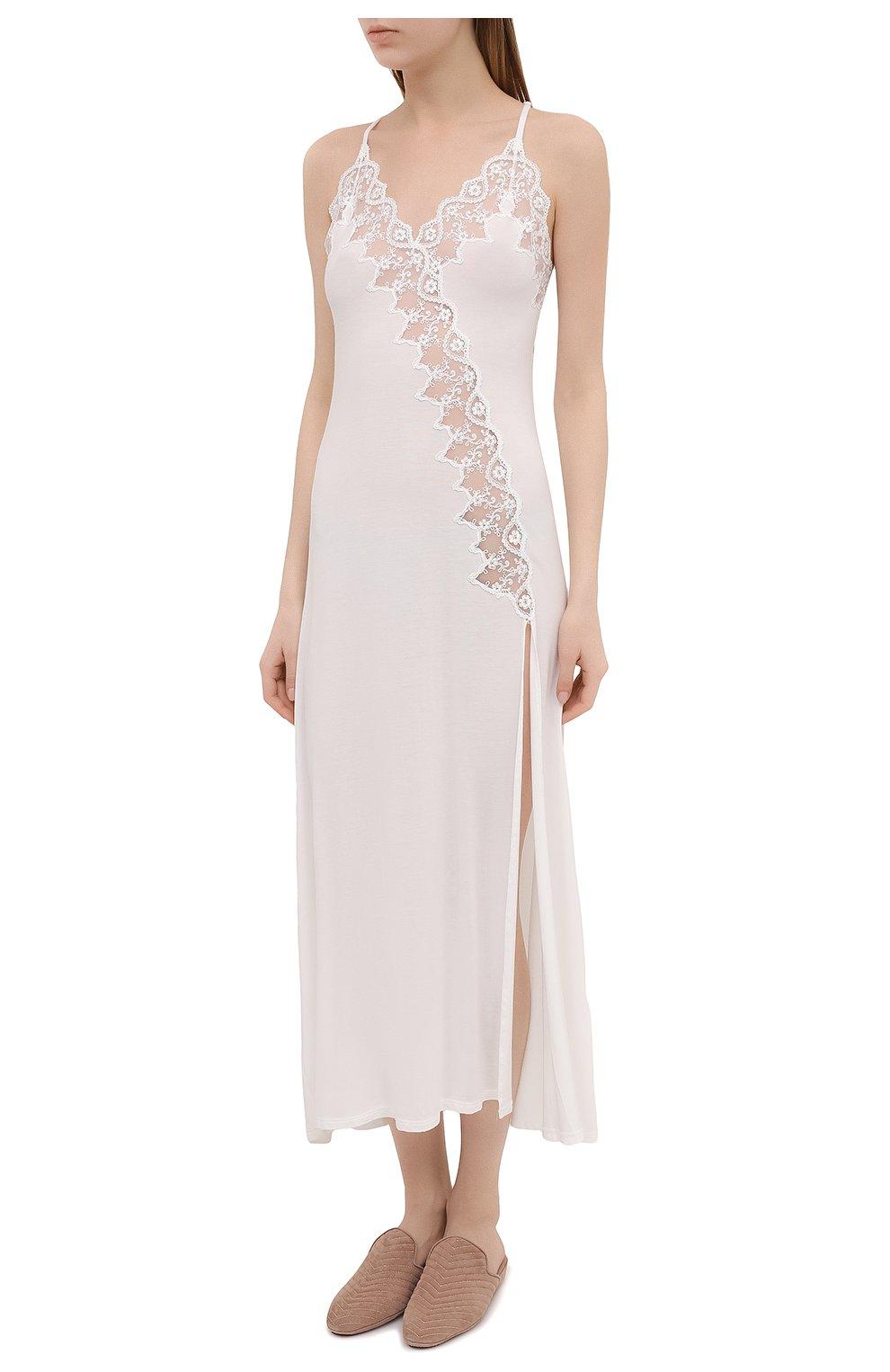 Женская сорочка RITRATTI MILANO белого цвета, арт. 72487   Фото 3