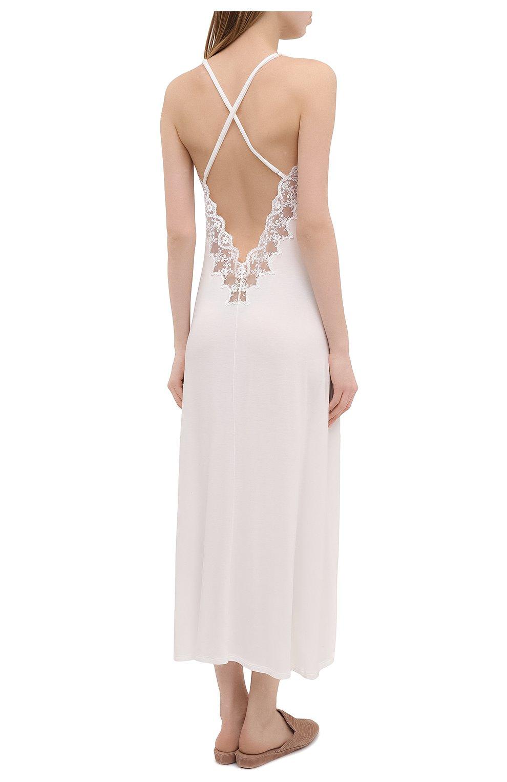 Женская сорочка RITRATTI MILANO белого цвета, арт. 72487   Фото 4