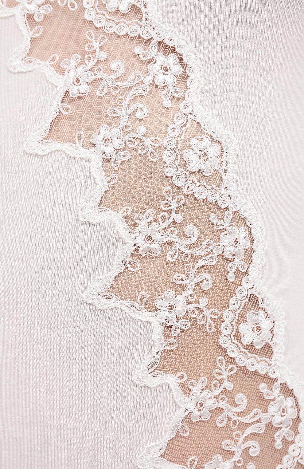 Женская сорочка RITRATTI MILANO белого цвета, арт. 72487   Фото 5
