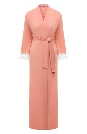 Женский халат RITRATTI MILANO светло-розового цвета, арт. 72488 | Фото 1