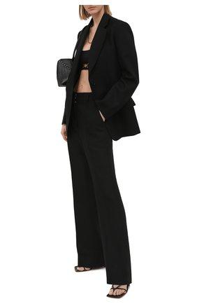 Женский бра-топ VERSACE черного цвета, арт. A88971/A101049 | Фото 2