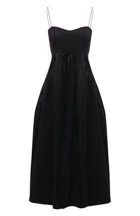 Женское платье CECILIE BAHNSEN черного цвета, арт. SC21-0080 | Фото 1