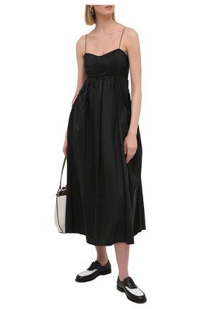 Женское платье CECILIE BAHNSEN черного цвета, арт. SC21-0080 | Фото 2