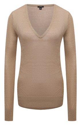 Женский пуловер JOSEPH золотого цвета, арт. JF005176 | Фото 1