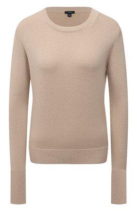 Женский кашемировый пуловер JOSEPH бежевого цвета, арт. JF005183 | Фото 1