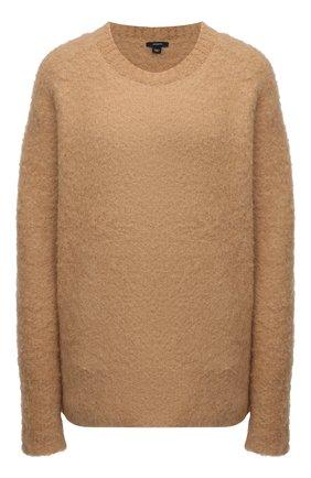 Женский шерстяной свитер JOSEPH бежевого цвета, арт. JF005190 | Фото 1