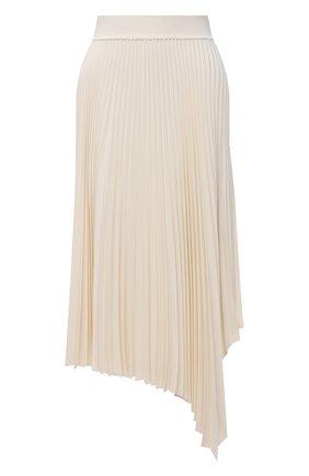 Женская плиссированная юбка JOSEPH светло-бежевого цвета, арт. JF005241 | Фото 1