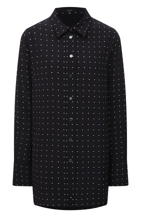 Женская шелковая рубашка JOSEPH черного цвета, арт. JF005243 | Фото 1