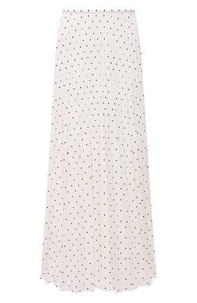 Женская плиссированная юбка JOSEPH белого цвета, арт. JF005245 | Фото 1