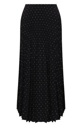 Женская плиссированная юбка JOSEPH черного цвета, арт. JF005245 | Фото 1