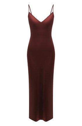 Женское шелковое платье JOSEPH бордового цвета, арт. JF005248 | Фото 1
