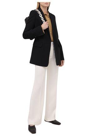 Женские брюки JOSEPH белого цвета, арт. JP001078 | Фото 2
