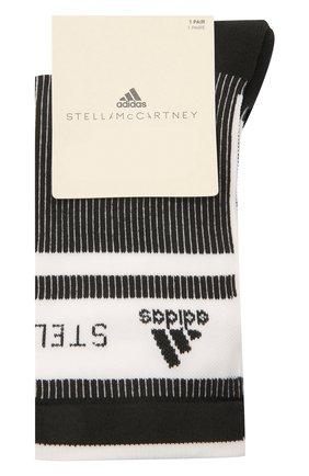 Женские носки ADIDAS BY STELLA MCCARTNEY черно-белого цвета, арт. GQ7073 | Фото 1