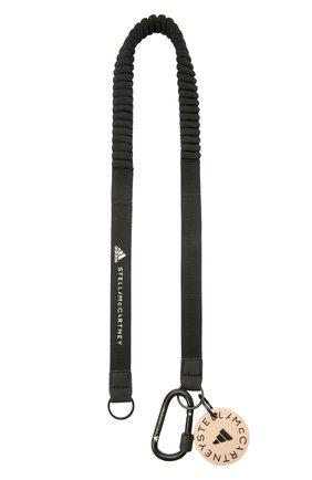 Шнурок для телефона ADIDAS BY STELLA MCCARTNEY черного цвета, арт. GQ0548 | Фото 1